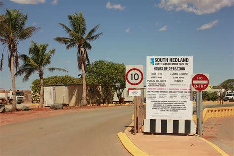 waste management town  port hedland