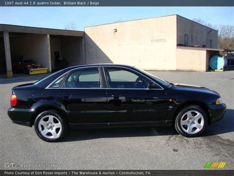 1997 Audi A4 Quattro by 1997 Audi A4 2 8 Quattro Sedan In Brilliant Black Photo No
