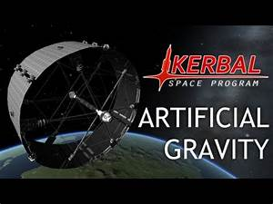 Artificial Gravity Space Station Kerbal Space Program
