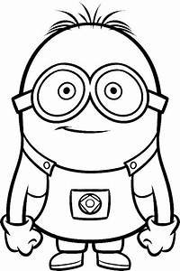 purple minions Colouring Pages (page 2) - ClipArt Best ...