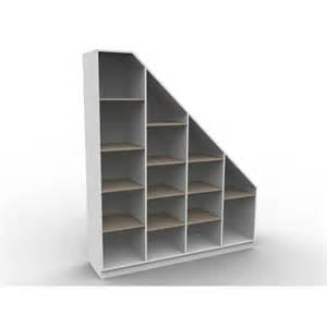 Etagere Cube Sous Escalier by Rangement Sous Escalier Sur Mesure Isabelle Sans Portes