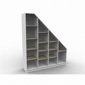 Escalier Sur Mesure Prix : rangement sous escalier sur mesure isabelle sans portes ~ Edinachiropracticcenter.com Idées de Décoration