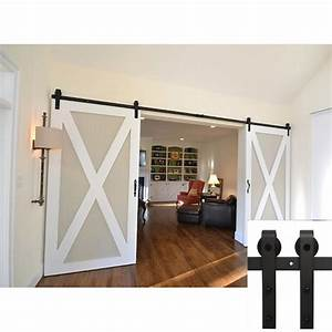 aliexpresscom buy 75 ft american barn door hardware With barn door hardware for two doors