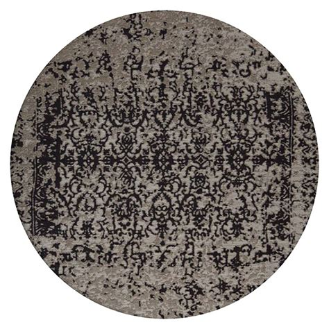 kayoom teppich rund 300 beige schwarz durchmesser