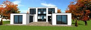 maisons bois archiforet archi foret architecte With plan maison avec patio 17 maison container modulaire ossature bois d architecte