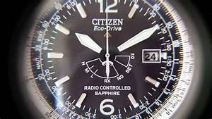 Funkuhr Einstellen Radio Controlled : orologio citizen eco drive h461 radio controlled youtube ~ Orissabook.com Haus und Dekorationen