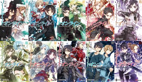 sao light novel image sao light novels png sword wiki