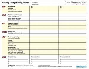 Marketing strategy template peerpex for Publicity plan template