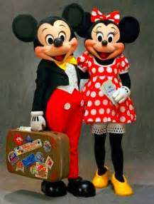 Disney Mickey and Minnie Mouse Disneyland