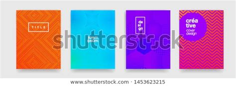 Color Gradient Pattern Background Abstract Geometric Stock