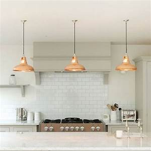 Pendant lighting ideas for kitchen : Coolicon industrial pendant light polished lamps