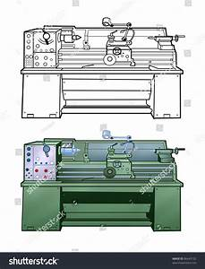 Pattern Lathe Colorful Illustrations And A Diagram Of