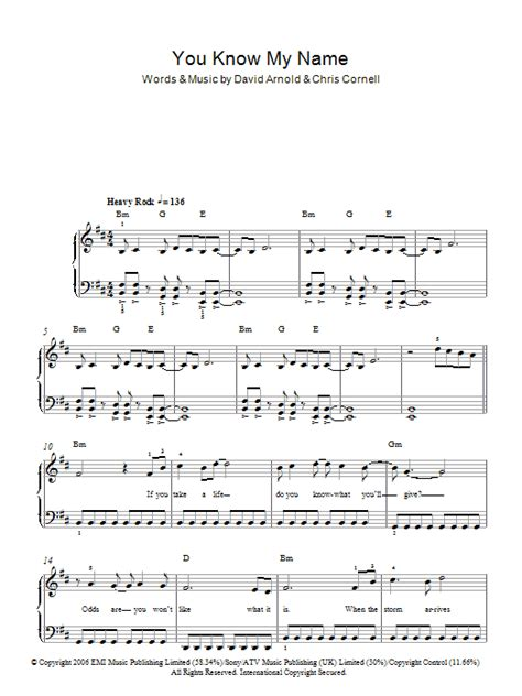 Chris Cornell Billie Jean Chords