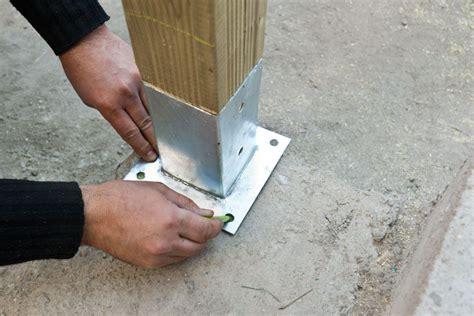 anchor post  concrete howtospecialist