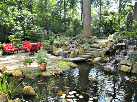 ponds water gardens turpin landscape design build
