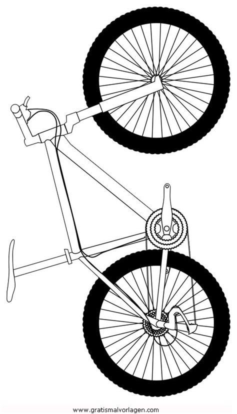mountain bike gratis malvorlage  sport verschiedene
