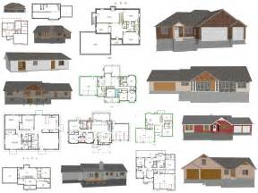 House Building Blueprints by Cad House Plans As Low As 1 Per Plan