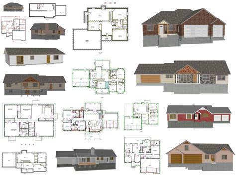 house plans blueprints  printable house plans