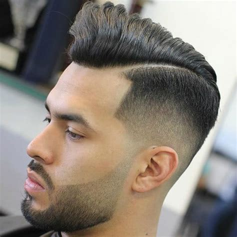 faded hairstyles  men  long  top cool