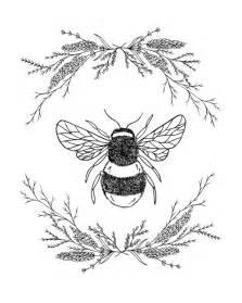 Honey Bee Tattoo Design Drawing