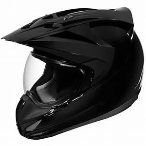 Casque De Moto : casque icon variant solid black en stock ~ Medecine-chirurgie-esthetiques.com Avis de Voitures