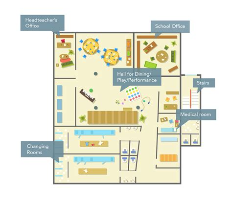 dining room floor plans location and classroom layout hackney primary
