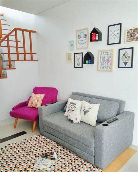 model sofa minimalis  ruang tamu kecil  harga
