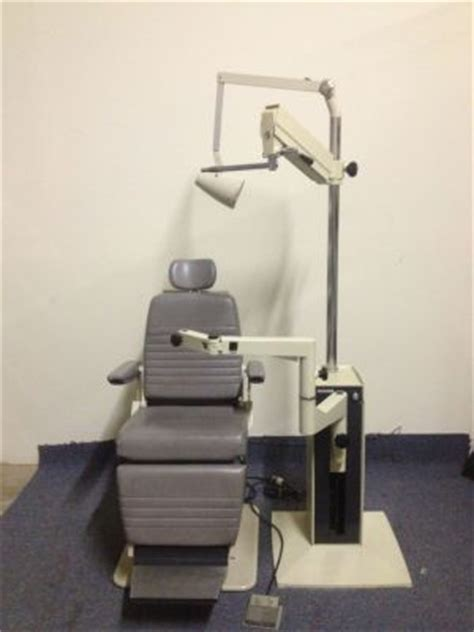 refurbished reliance 5200 and 7720 nc ophthalmology chair
