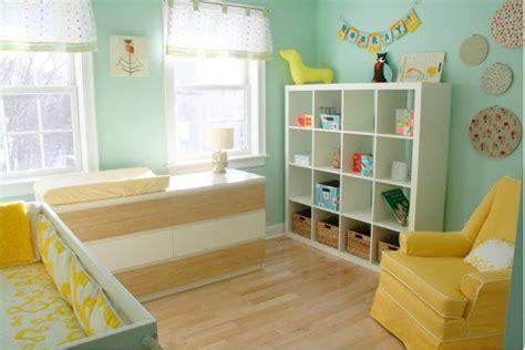 décoration chambre bébé mixte chambre bebe mixte deco visuel 1