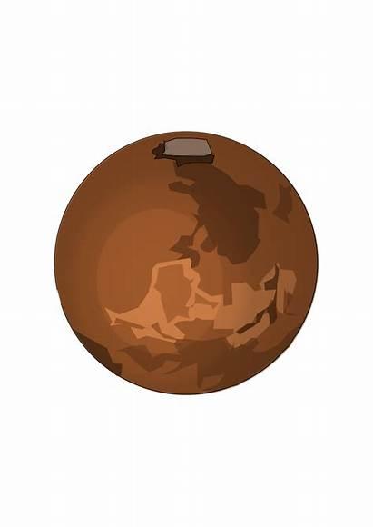 Clipart Mars Planet Space Outline Transparent Clip
