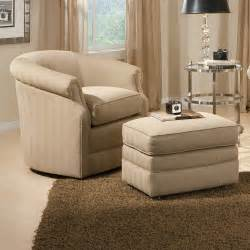Living Room Accent Chairs with Ottomans