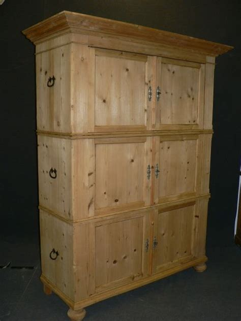 Large Storage Cupboards by Large Antique Pine Storage Cupboard 252147