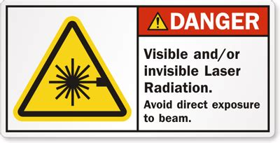 laser light warning label laser warning labels and decals