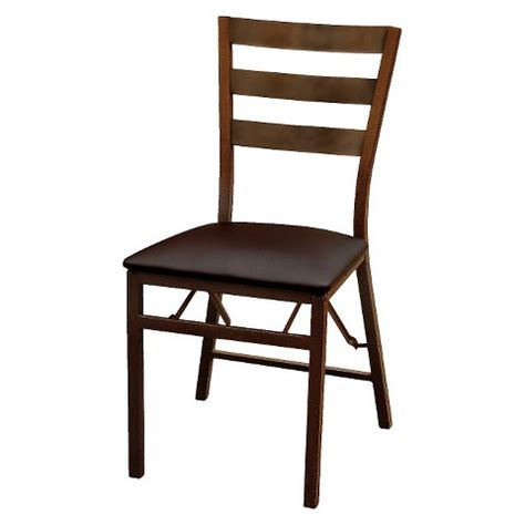 Folding Chairs At Target by Folding Chair Brown Plastic Dev 174 Target