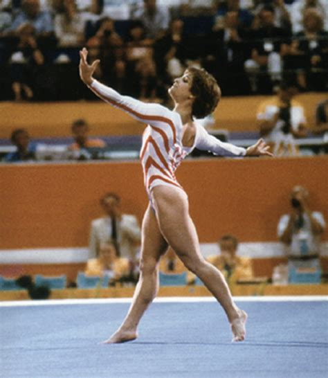 Lou Retton Olympic Floor Routine by Gymnast Lou Retton Stole Hearts And Won Gold At The