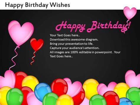 powerpoint birthday template 8 best images of powerpoint template birthday invite dinner invitation template free