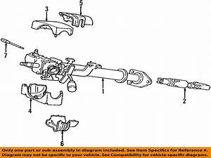 2001 Dodge Ram 1500 Van Base V8 5 2 Steering Column Diagram