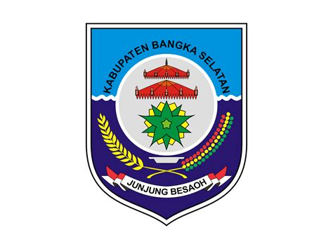 logo kabupaten bangka selatan vector cdr png hd gudril