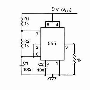 timer output frequency unstable in 555 oscillator With frequency counter timer operation