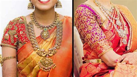 latest blouse designs   silk sarees fashion