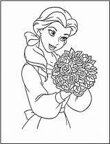 Coloring Princess Disney Printable Belle Colouring Sheet Printables Fanclub sketch template