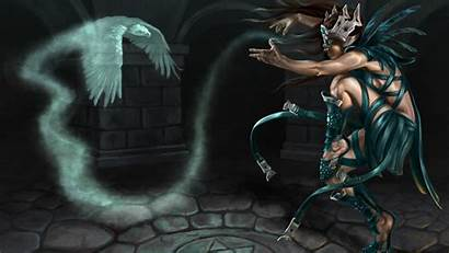 Sorcerer Smoke Birdman Magic Fantasy Wallpapers Background