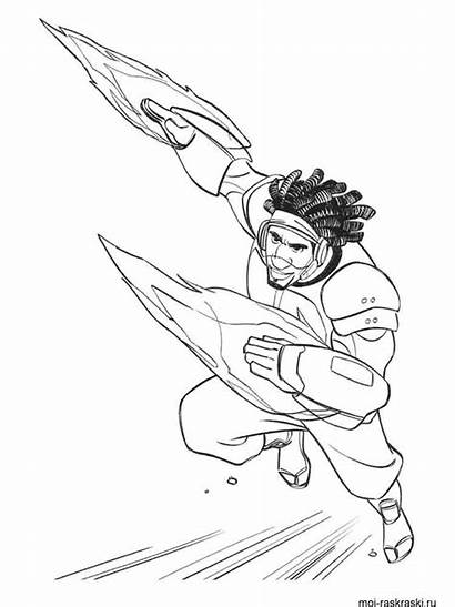 Coloring Pages Hero Printable Cartoon