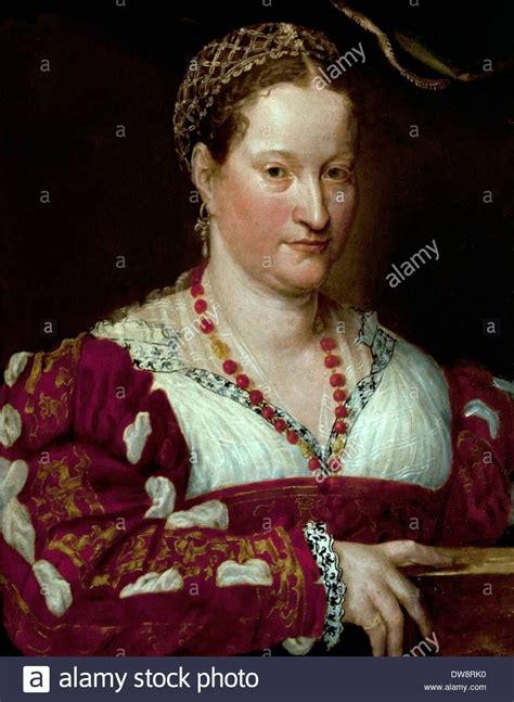 Portrait Of A Woman 1550 Painting Of Prospero Fontana