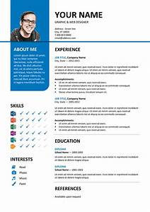 bayview stylish resume template With color resume templates free download