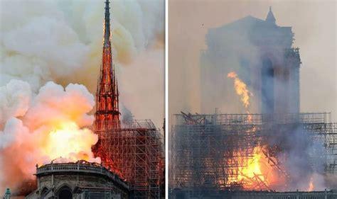 notre dame fire expert explains  paris monument caught