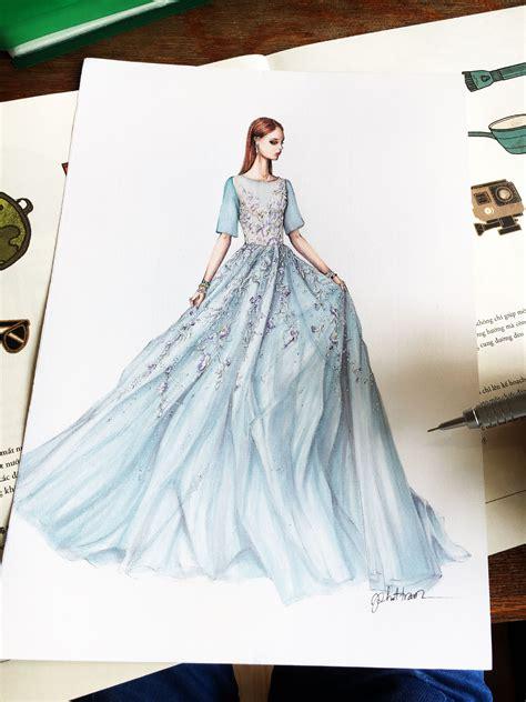 Fashion Design Dresses by Lejla Hoxha Fashbook Fashion Design Drawings