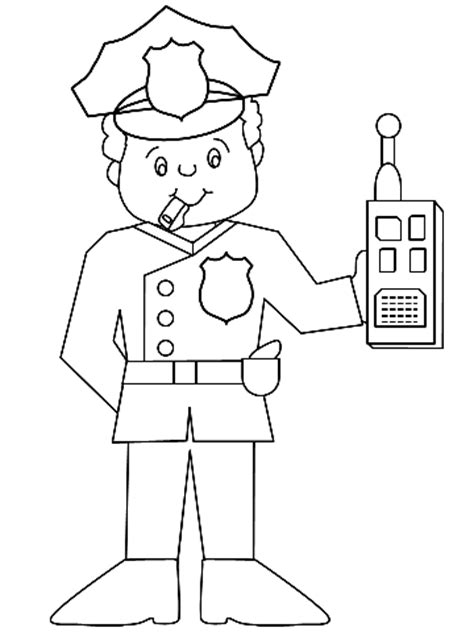 Dog Man Free Colouring Pages