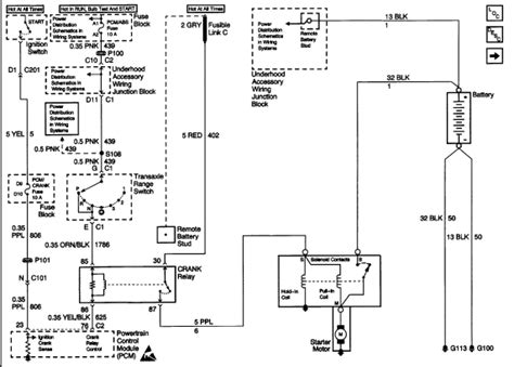 Starter Wire Diagram 2001 Alero by Today Our 2000 Chevy Venture Lost All Electrical Power