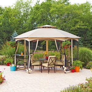 mainstays patio set replacement glass mainstays vineyard gazebo with glass shelf 176 quot x 114